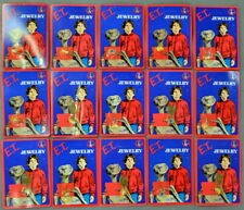 Lot of 15 DIFFERENT Pieces of E.T. Extra Terrestrial  JEWELRY - All Sealed