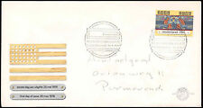 Netherlands 1976 American Revolution FDC First Day Cover #C27584