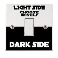 Star Wars Wall Sticker Dark Light Side Switch Vinyl Decal Funny Lightswitch