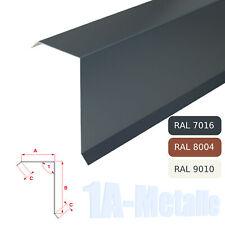 Ortgangblech Aluminium Winkelblech Ortblech Alu Dachblech RAL Farben Ortgang B