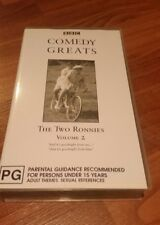 THE TWO RONNIES - COMEDY GREATS VOLUME 2 ABC VHS VIDEO