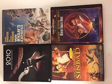 4 DVD Lot Von Ryan's Express 7th Voyage of Sinbad Where Eagles Dare 2010 VG