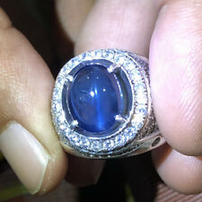 Natural Cat's Eye Sapphire Ring