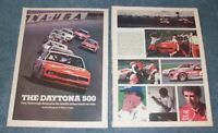 1984 NASCAR Daytona 500 Vintage Race Highlights Article Cale Yarborough Win