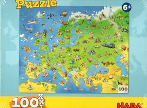 HABA: Puzzle Countries of Europe (100 XXL)