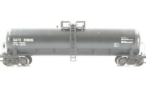 HO Roundhouse GATX 50ft Single-Dome Side Ladder Tank Car Assmbled Xlnt
