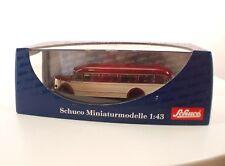 Schuco n°02744 Bus Mercedes-Benz O 6600 1:43 neuf MIB