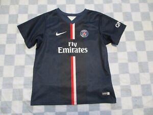 Maillot PSG PARIS SAINT-GERMAIN 2015 n°10 NIKE shirt home enfant 5 6 ans