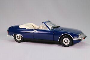 LE872 NOREV Voiture 1/18 1:18 Citroen SM MYLORD cabriolet bleue ARTISANALE