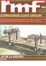 RMF  N° 224 SIGNALISATION ALSACE-LORRAINE/CONSTRUCTION EN HO DE LA 231-C-50 NORD