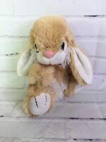 Dan Dee Collectors Choice Beige Tan Off White Plush Bunny Rabbit Stuffed Animal