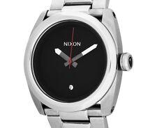Nixon Mens  41mm Kingpin Stainless Steel Watch - Black