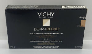 Vichy Dermablend Corrective Compact Cream Foundation (Sand 35) - NEW