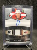 2018-19 Upper Deck The Cup Jake Bean Signature Materials Rookie Patch Auto /99