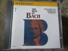 """Marie-Claire Alain,Maurice Andre,Ton Koopman,""""The Best of Bach Vol.1"""" CD"""