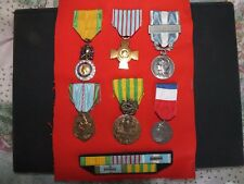 PLACARD MEDAILLE INDOCHINE EXTREME ORIENT MILITAIRE WWII MEDAL RAPPEL