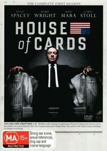 House of Cards Season 1 Volume 1 Chapters 1-13 DVD | Region 4 & 2