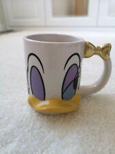 Brand New Disney Daisy Mug Cup White Typo