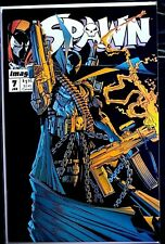 SPAWN #7 CLASSIC ARSENAL COVER! VERY HIGH GRADE! 1992 MCFARLANE MOVIE FOXX HOT!!