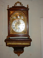 Barocke Stutzuhr mit Konsole,Spindelhemmung Freimaurer Uhr!!!