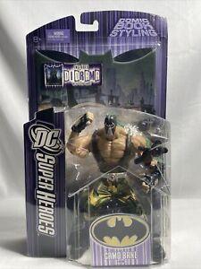 DC Super Heroes Camo Bane Figure - Brand New/Unopened