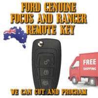 GENUINE Ford Focus + Ranger Remote Key 2011 To 2015 - Brand New - Free Postage
