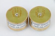 1pc Gold plated 6SN7 TO 6DE7 tube converter adapter