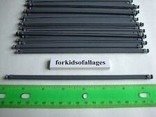 "25 Knex Dark Gray Rods 7 1/2"" Pieces 7.5"" Bulk Standard Replacement Parts Lot"