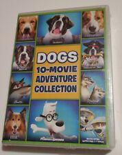 DOGS 10-Movie Adventure Collection (DVD Box Set) Beethoven + Balto 1+2 + Lassie