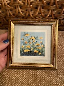Signed Numbered Limited Edition Framed Kathleen Freeth Miniature Print #10 (b7