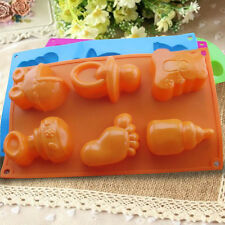 Christmas Silicone Chocolate Decorating Mould Candy Cake Cookie Baking Mold Pop