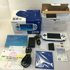 SONY Play Station Portable PSP-3000 Console White / Blue . Value Pack and 32GB×2