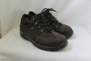 Finn Comfort 6.5 W  Brown Leather Murnau Shoes