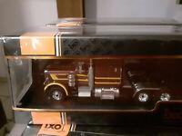 Peterbilt 359 marron tracteur camion 1973  ixo 1/43