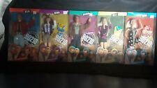 1991 Mattel Beverly Hills 90210 Barbie  Dolls Lot Of 5 Dylan Brenda Brandon