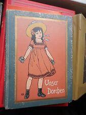 Martha Giese: Unser Dorchen Eine Erzählung für Mädchen Loewes Verlag ca. 1900