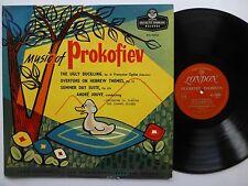 Music of PROKOFIEV Ugly Duckling.LP Classical UK press VG++ vinyl  #339