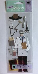 """A Touch Of Jolee's """"Doctor"""" Dimensional Stickers"""