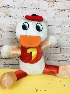 "Vintage Donald Duck Nephew Huey Dewey Louie Plush Stuffed Animal A-1Novelty 15"""