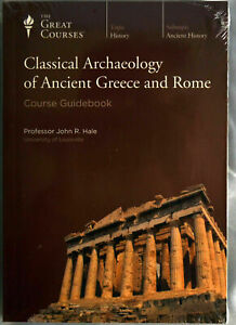 The Great Courses Classical Archaeology of Ancient Greece & Rome BRAND NEW CD's