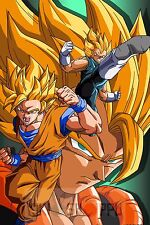 Poster A3 Dragon Ball Goku Vegeta Super Saiyan Manga Anime Cartel Decor 03