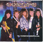 """EUROPE The Final Countdown PICTURE SLEEVE 7"""" 45 record + juke box title strip"""