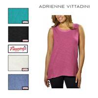 SALE! Adrienne Vittadini Ladies' High-Low Sleeveless Tank Top VARIETY SZ/CLR H41