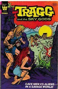 RARE  FINAL WHITMAN TRAGG AND THE SKY GODS #90 1982 GRADED VG WHITMAN BAG SERIES