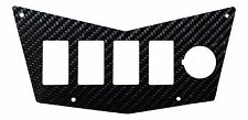 REAL Carbon Fiber switch panel plate Polaris RZR 570, 800, XP 900, RZR-S/4 800
