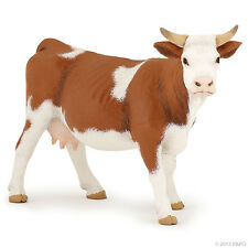 Simmentaler Kuh 13 cm Bauernhoftiere Papo 51133