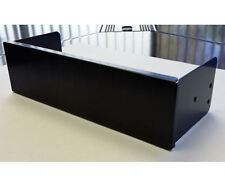 Silverstone 5.25 inch Bay Single Slot Aluminum Cover (Black)