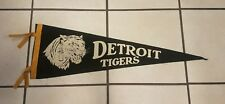 1940's Detroit Tigers Pennant MI Michigan Rare Vintage