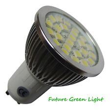 GU10 24 SMD LED 240V 380LM 4.3W WHITE BULB ~50W