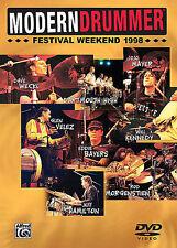 MODERN DRUMMER FESTIVAL 1998 NEW DVD - DRUM DRUMS